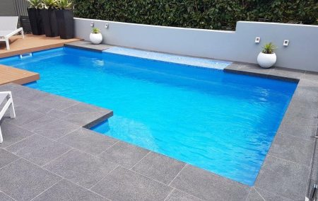Outdoor pools made by Harvest Pools
