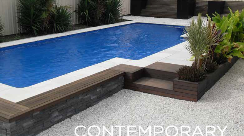 Harvest Pools Contemporary Pool