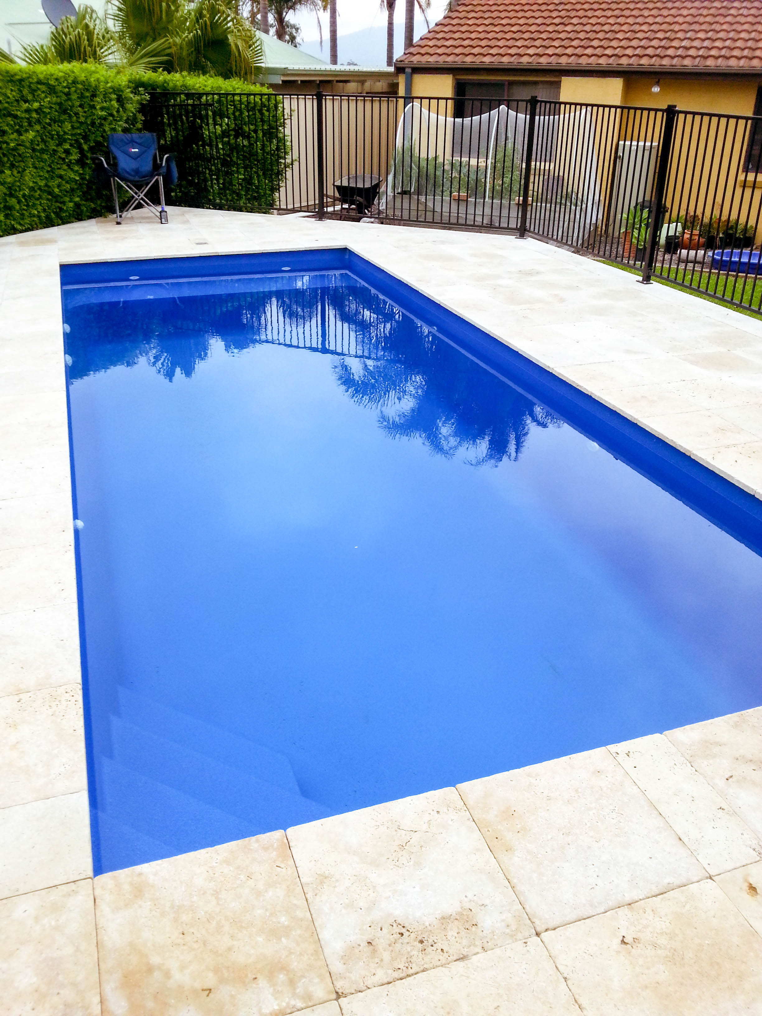 Home Blue water pool